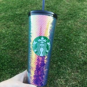 Starbucks dark sequin tumbler 2020 Winter